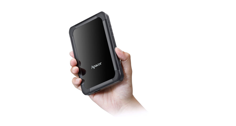 Apacer Launches The AC532 USB 3.1 External HDD