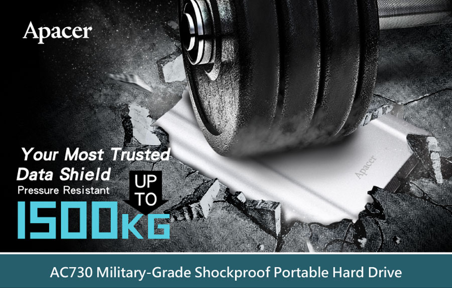 Apacer Releases A Military Grade Portable HDD