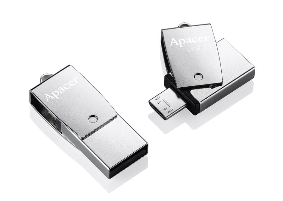 Apacer Introduces AH730 and AH750 Dual Interface OTG Flash Drives