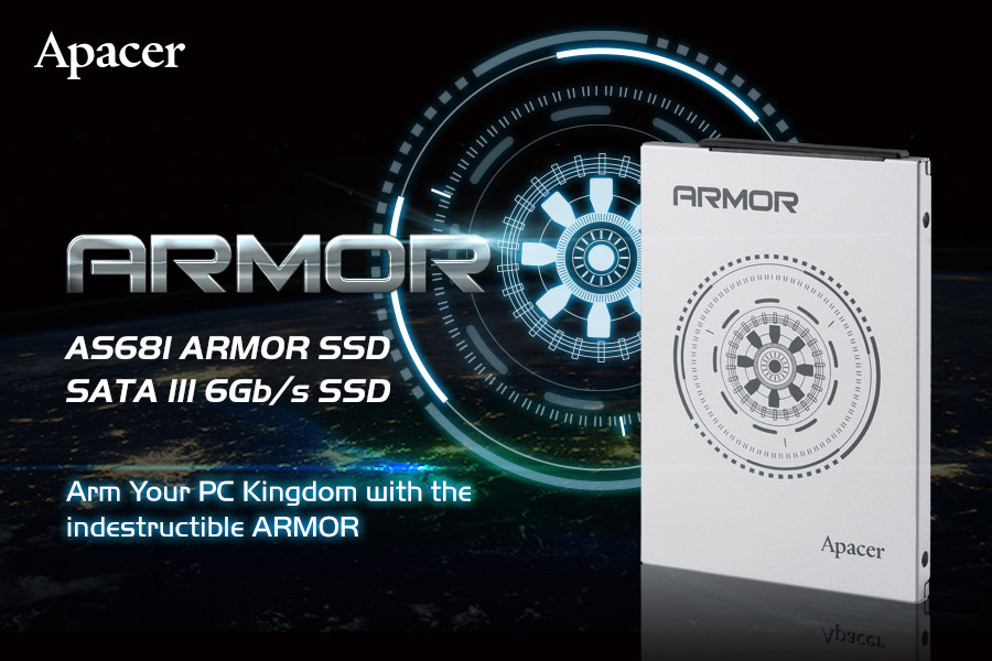 APACER Introduces The AS681 ARMOR SATAIII SSD