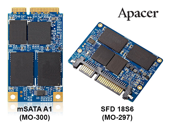 Apacer Launches SATA 3.0 Slim SSDs For Industrial Devices