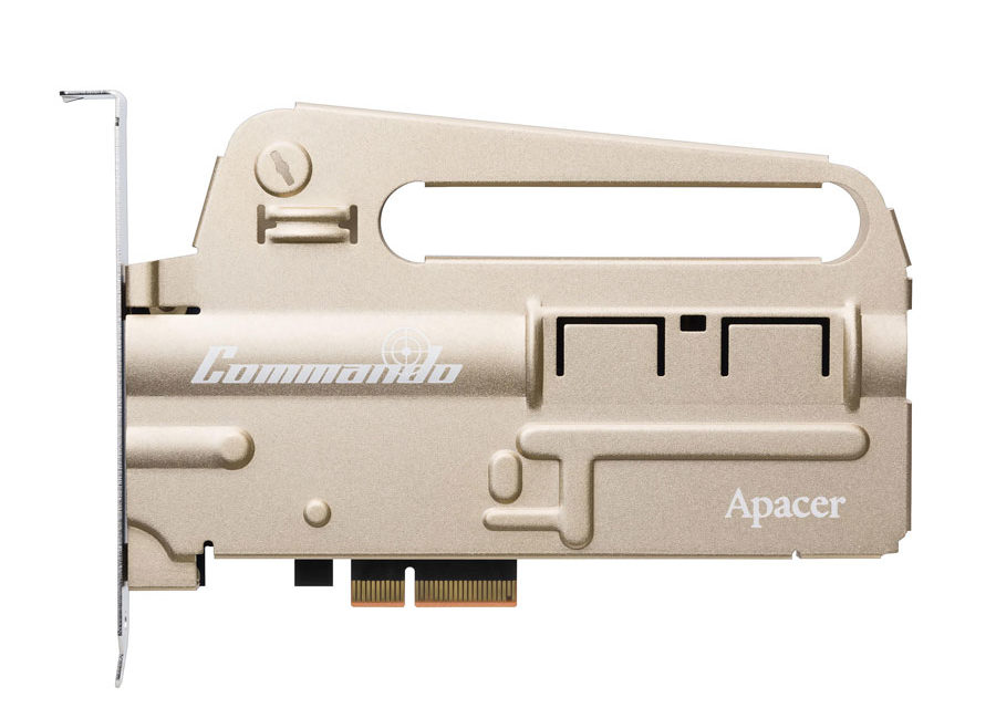 Apacer Announces The PT920 COMMANDO Gaming SSD