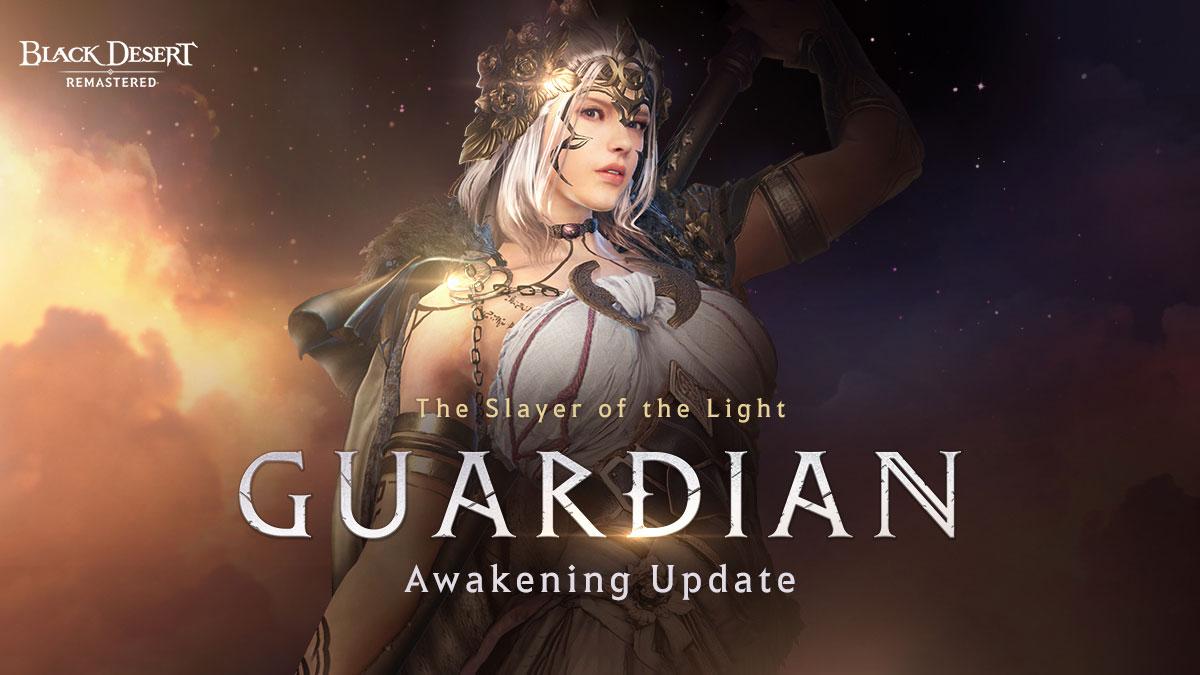 New Guardian Class Awakening Now Available inBlack Desert SEA