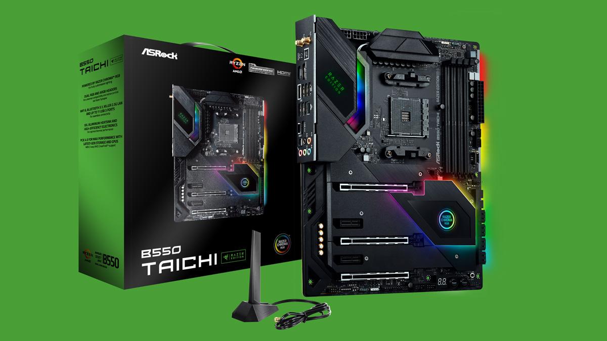 ASRock Announces Taichi Razer Edition Gaming Motherboards