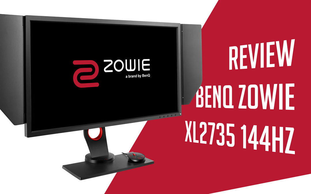 BenQ ZOWIE XL2735 144Hz eSports Gaming Monitor Review
