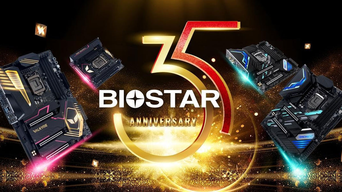 BIOSTAR Celebrates 35th Anniversary With Valkyrie Series Motherboards