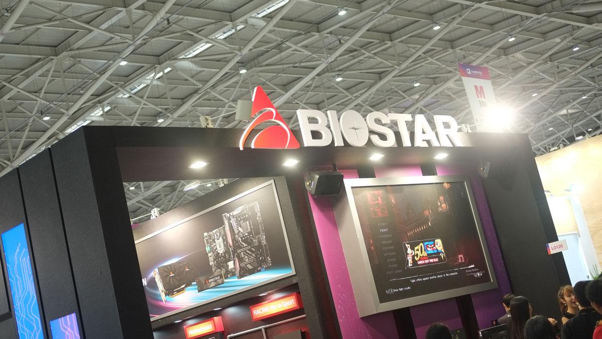 BIOSTAR Shows Off 5G Gaming A10N-8800E Motherboard at Computex