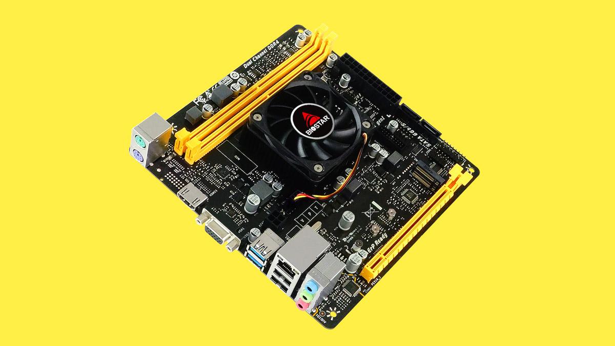 BIOSTAR Updates A10N-8800E SoC Motherboard with New Heatsink Design