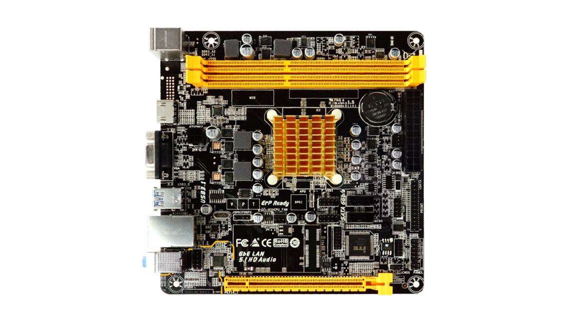 BIOSTAR Presents A68N-2100E SoC Motherboard