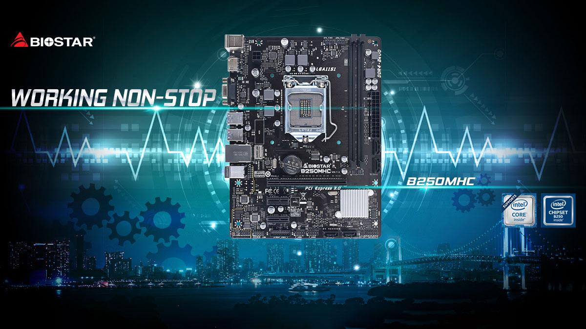 BIOSTAR Announces the B250MHC Motherboard