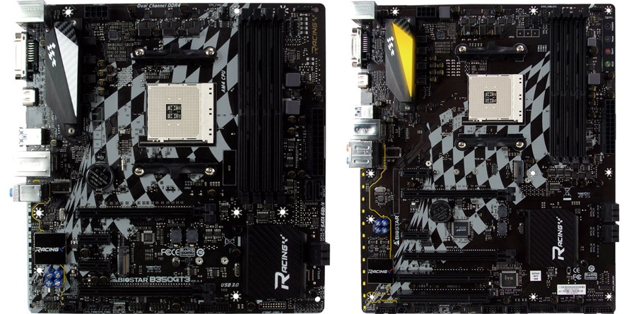 BIOSTAR Announces The AMD B350 RACING Series Lineup