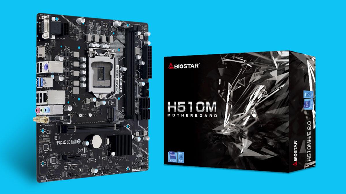 BIOSTAR Announces Intel H510 Motherboards