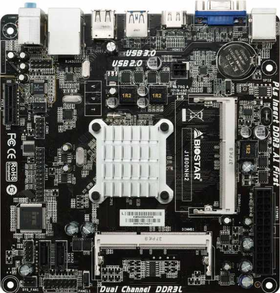 BIOSTAR's J1800NH2 is a Feature-Filled Intel SOC Solution