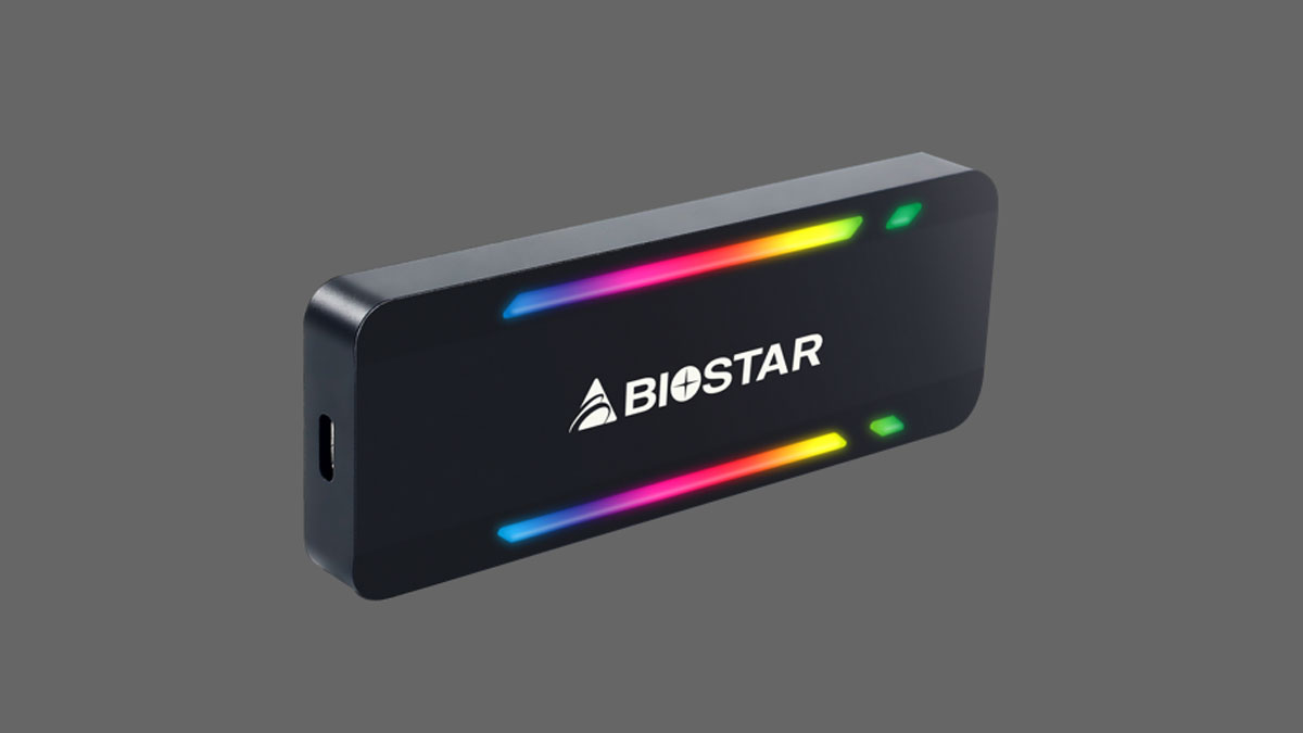 BIOSTAR Announces P500 SERIES Portable SSD
