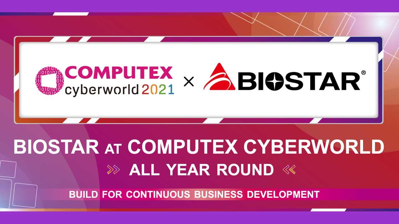 BIOSTAR Announces Presence at Computex 2021