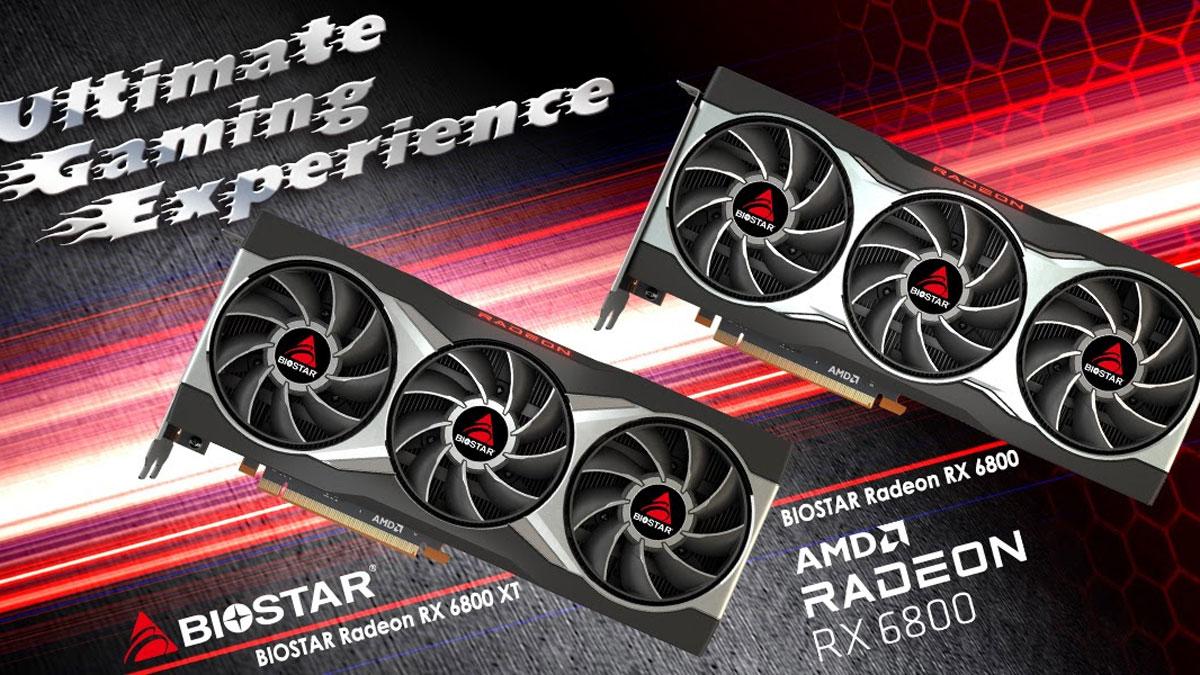 BIOSTAR Announces RX 6800 Series Models