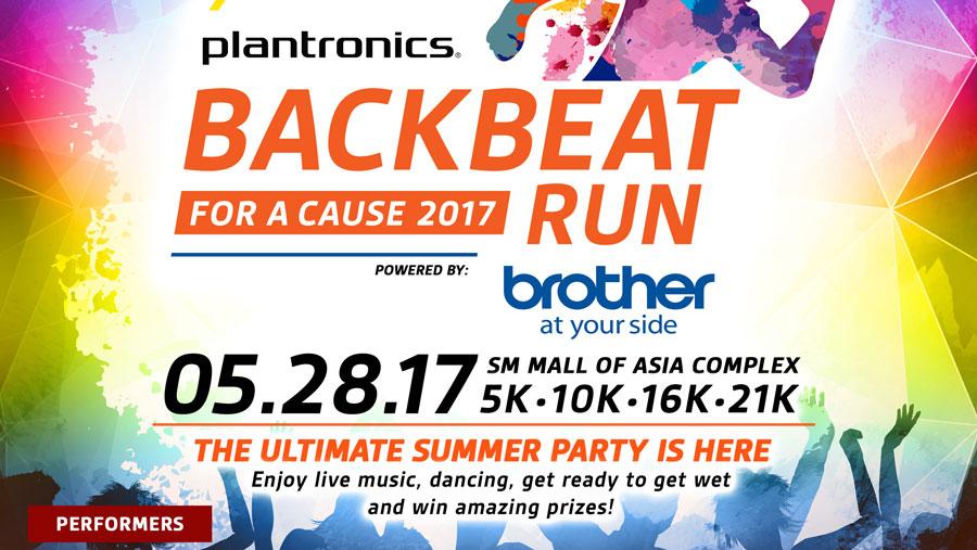Backbeat Run 2017 Race Promotion Details
