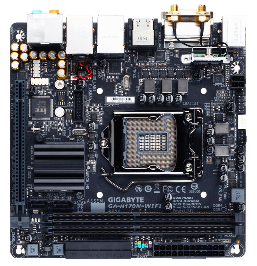 Best Intel 100 Series Motherboards (6)