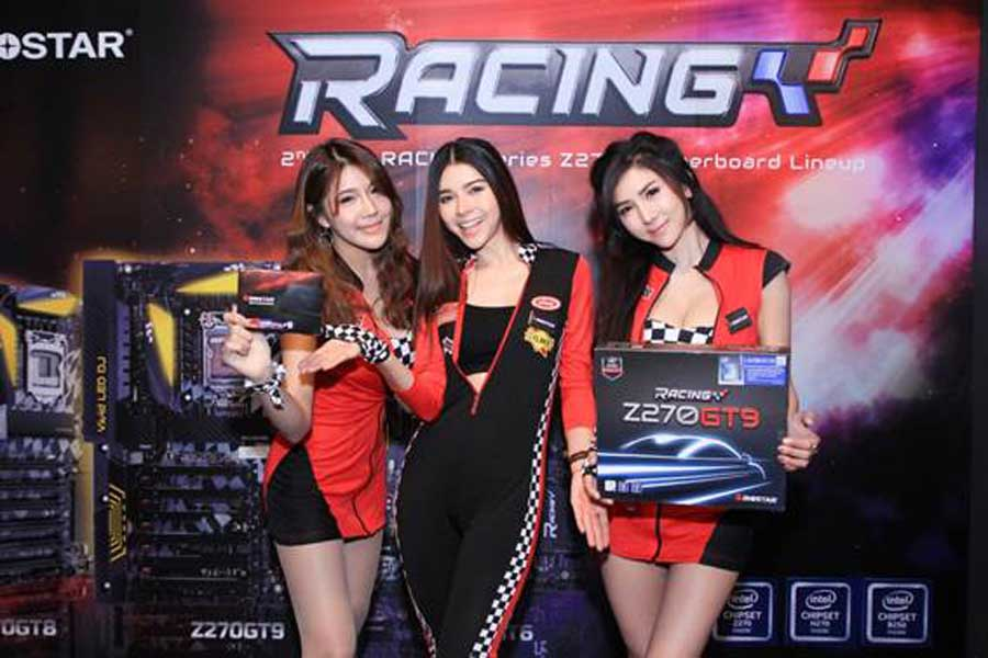 BIOSTAR Held 2nd Generation Racing Series Motherboard Event at Thailand