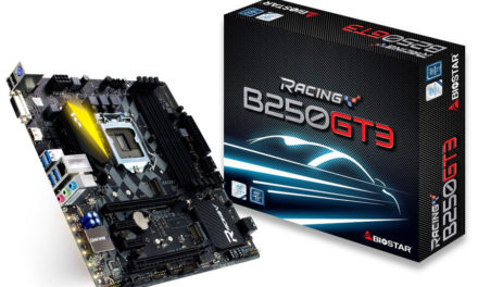BIOSTAR Announces The B250 Racing Series Motherboards