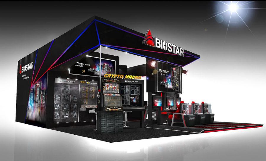 BIOSTAR Reveals Its Showcase for COMPUTEX 2017