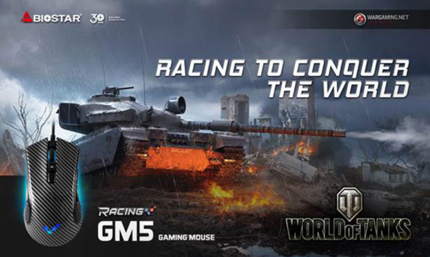 BIOSTAR Racing GM5 Gaming Mouse Launched