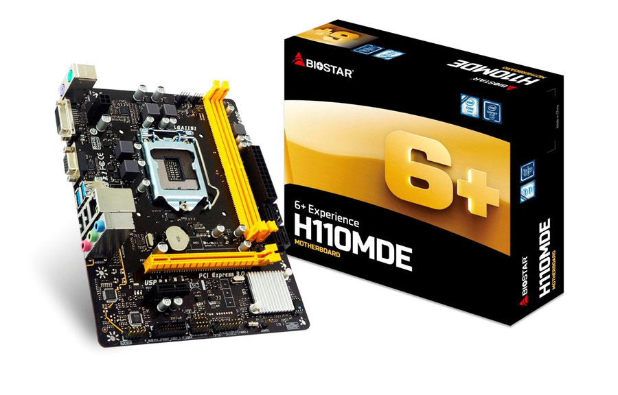 BIOSTAR Introduces The Affordable H110MDE Motherboard