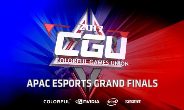 COLORFUL Announces CGU APAC 2017 eSports Tournament