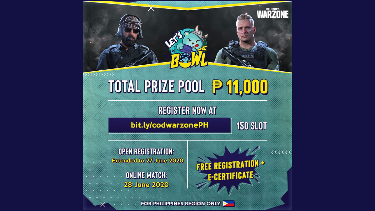 BOW.L Announces Call of Duty: Warzone Local Tournament
