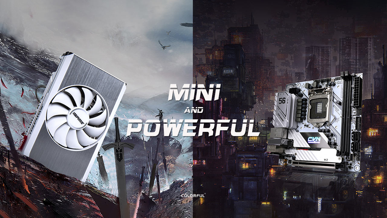 COLORFUL Launches B560 Mini-ITX and RTX 3060 Mini