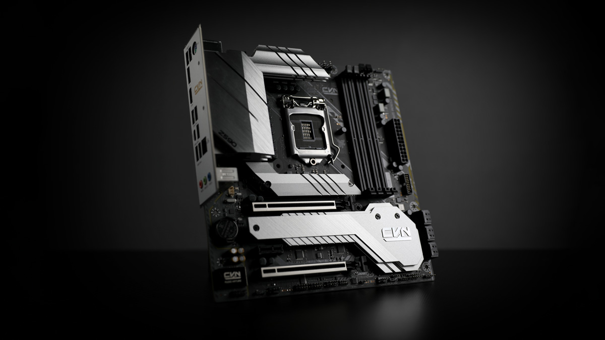 COLORFUL Releases CVN Z590M GAMING PRO Motherboard
