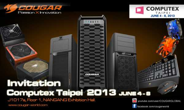 COUGAR-COMPUTEX-2013