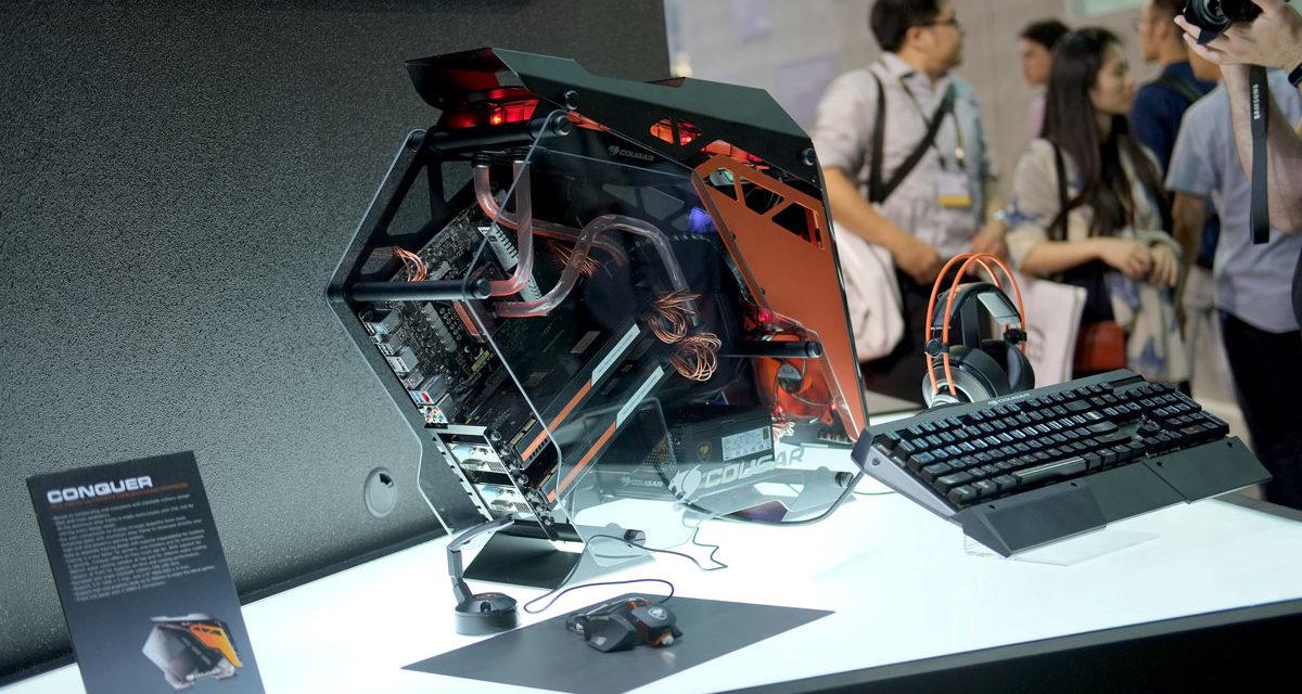 COUGAR Struts Their Gaming Stuffs At COMPUTEX