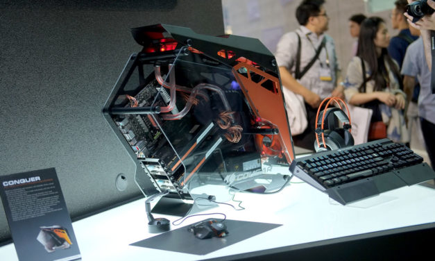 COUGAR Struts Their Gaming Stuffs At COMPUTEX