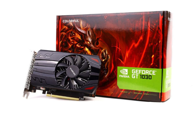 COLORFUL Announces The GT 1030 2G Graphics Card