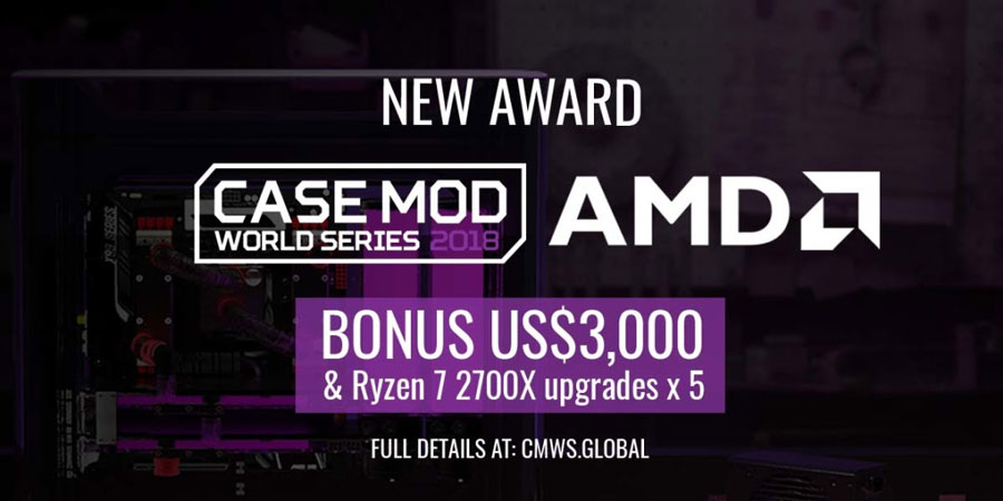 CoolerMaster Case Mod World Series 2018 Welcomes AMD
