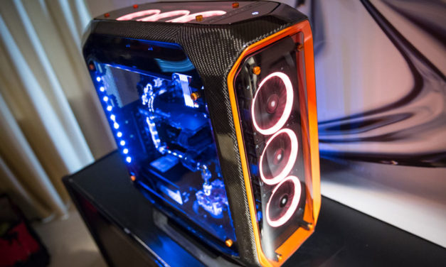 Corsair Unveils Carbon Fiber Case and Other Concepts