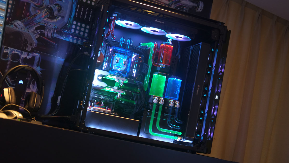 CORSAIR Unveils Hydro X Series Line of Custom Cooling Solutions