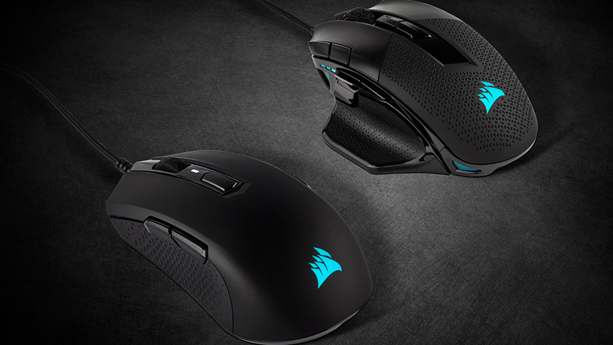 CORSAIR Expands Gaming Mice Line with NIGHTSWORD RGB and M55 RGB PRO