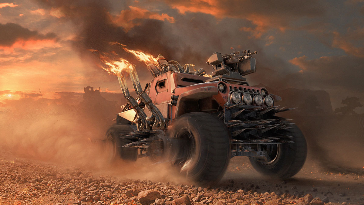 Vehicle-Based Shooter Crossout Goes Into Open Beta Testing