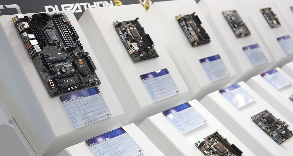 ECS Revitalizes Motherboard Line-Up at COMPUTEX 2017