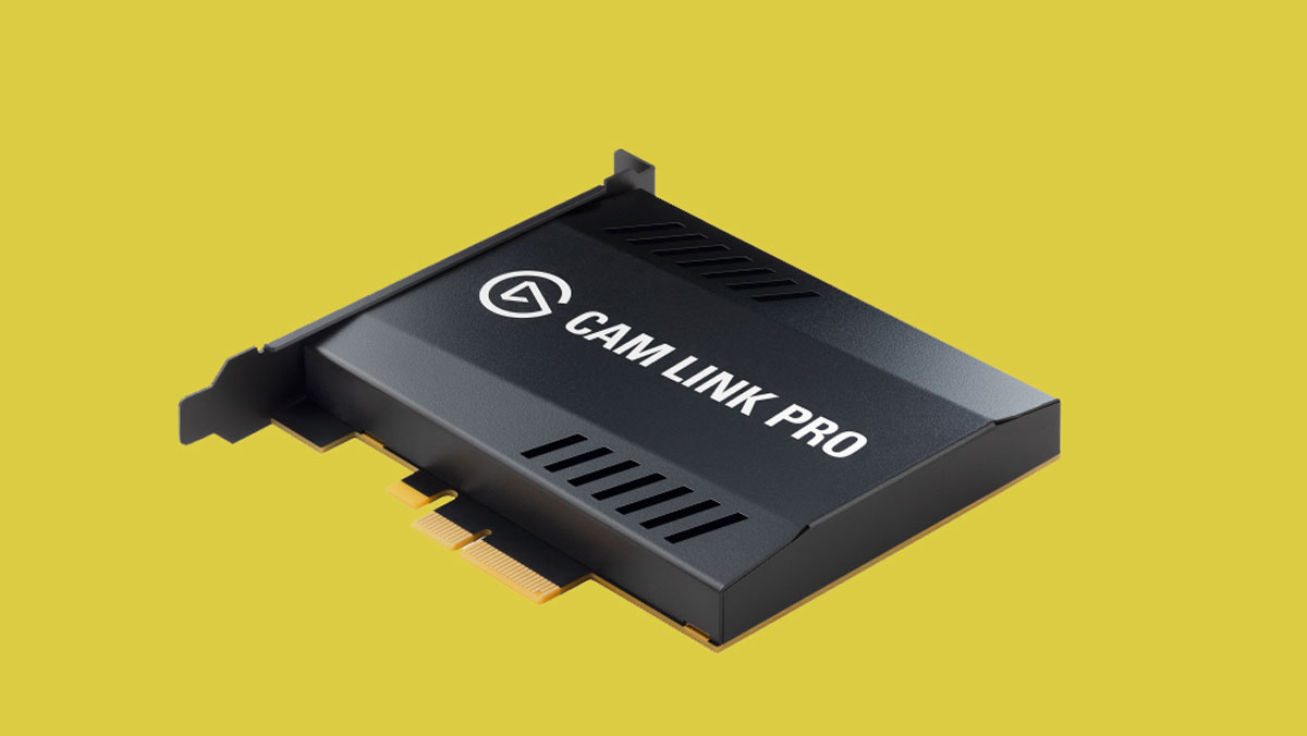 Elgato Launches Cam Link Pro PCIe Card