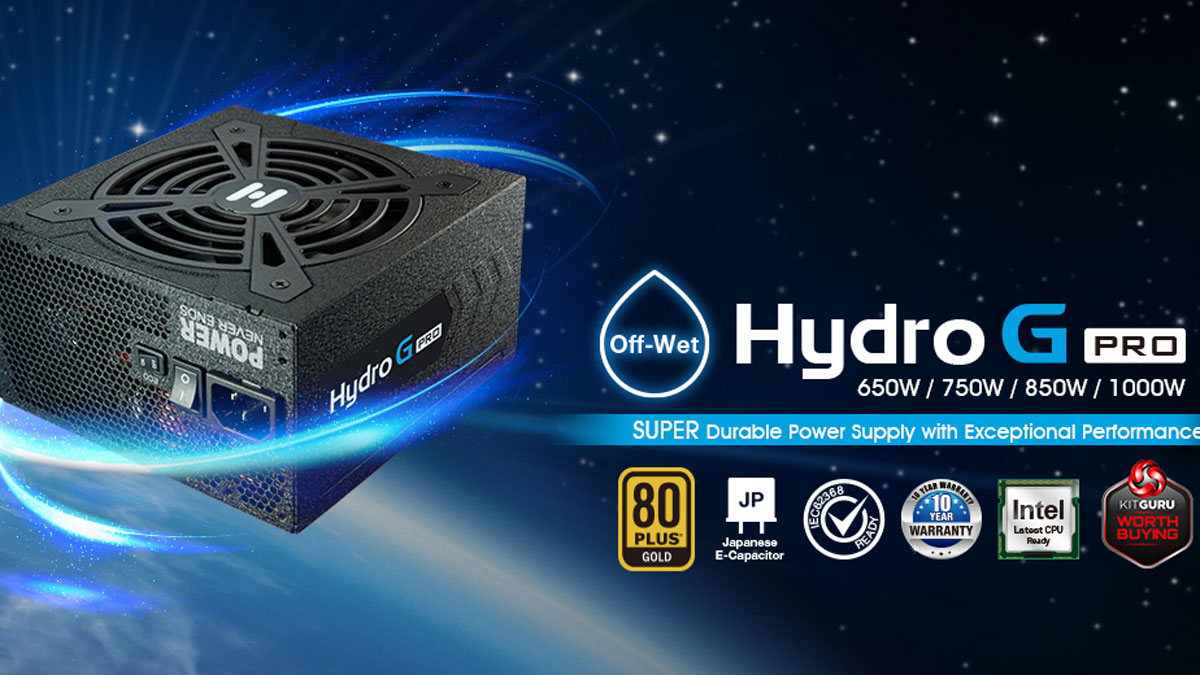 FSP Announces New Hydro G Pro Series PSU