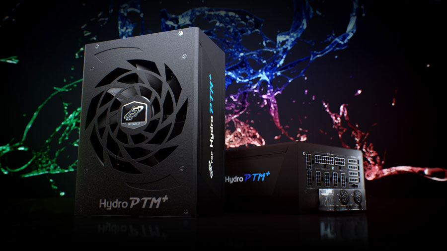 FSP and Bitspower Hydro PTM+ is a Liquid cooled 1200W PSU