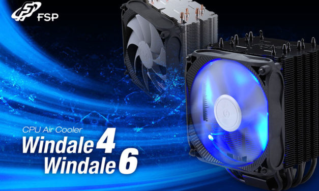 FSP Enters CPU Cooling Game With Windale Series