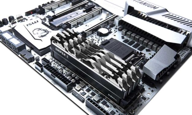 G.SKILL Releases The Sniper X DDR4 Memory Series