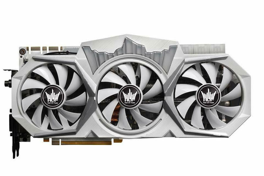 GALAX Teases GTX 1080 Ti Hall of Fame Edition With Triple 8-Pin Power
