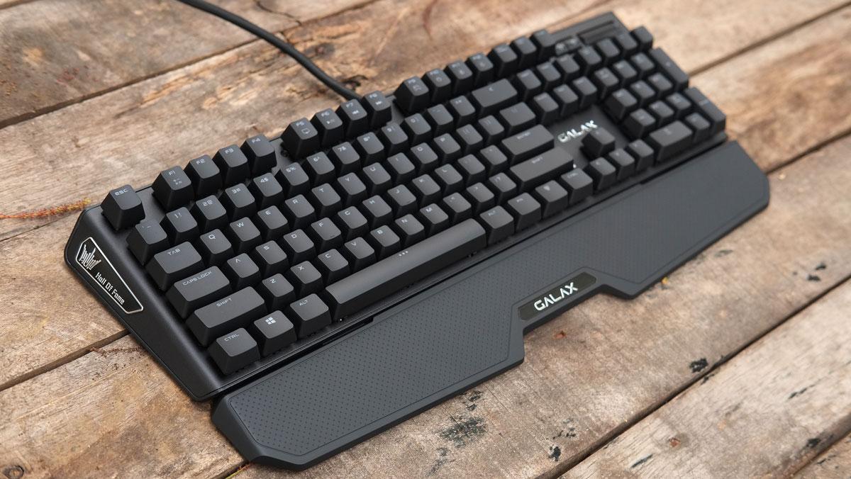 Review | GALAX HOF Black Edition Mechanical Gaming Keyboard