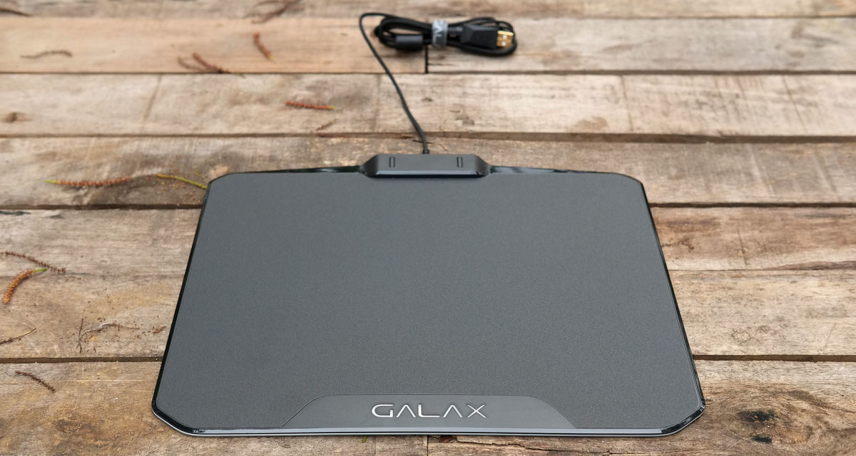 GALAX SNPR RGB Gaming Mouse Pad Review