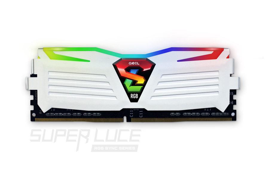 GeIL Announces The SUPER LUCE RGB SYNC Memory Kits